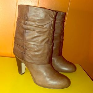 Seychelles Brown Leather Booties